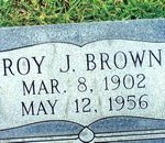 tn_cemetery Brown Roy J 1902 1956