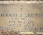tn_cemetery Brown Hubert A military